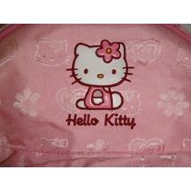 Mochila Hello Kitty. Rosa Para Nena. Impecable