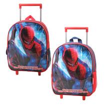 Mochila Con Carro Spiderman Jardin, Original V. Crespo