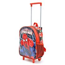 Spiderman Mochila Con Carro 12\
