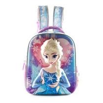 Mochila Frozen Elsa 3d Jardin -microcentro-v.crespo-mte Gde