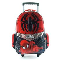 Educando Mochila Escolar Con Carro Spiderman 62653