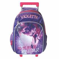 Mochila Carrito Violetta Original 16 Pulgadas 2015