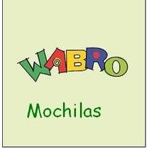 Mochila Wabro Con Carro Para Nena