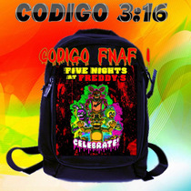 Five Nigths At Freedy Mochilas Medianas De Jean