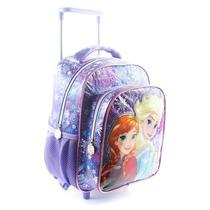 Mochila Infantil 12 Carro P/jardin Frozen Princesas Original