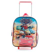 Mochila Escolar Cars Con Carro 12 Pulgadas Disney