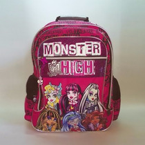 Mochila Monster High 18 Pulgadas