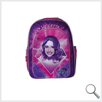 Mochila De Espalda Violetta 3d Disney 18
