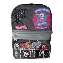 Mochila Monster High - Grande - Lic. Oficial - Envio Gratis!