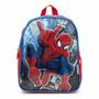 Mochila De Espalda Spiderman Jardin Con Licencia Original 12