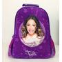 Mochila De Espalda Violetta Con Licencia Disney Original 16