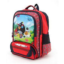 Mochila Angry Birds Con Solapa En Bolsillo