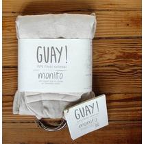Mochila Porta Bebé Monito Guay Jersey Creciendo