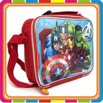 Lunchera Termica Avengers Vengadores Original Mundo Manias