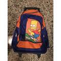 Mochila Bart Simpsons Con Carro