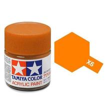 Orange Tamiya X-6 10ml.