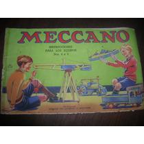 Manual Instrucciones De Meccano
