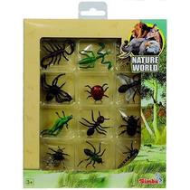 Insectos Pack Colección 12 Insectos Ciencia Simba Bichos