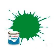 Emerald Gloss Humbrol 2 14ml Enamel Paint