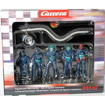 Set Of Figures Mechanic Marca Carrera
