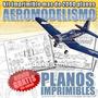 Kit Imprimible 2000 Planos Para Aeromodelismo Radiocontrol