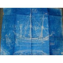 Plano Navio Mercante Armado 1609 Half Moon