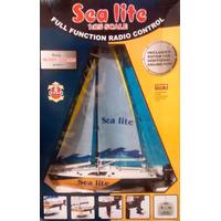 Barco Velero A Control Remoto Sea Lite New Bright 1/25