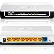 Router Tp-link Tl-r860 8 Puertos Con Firewall - Cableado