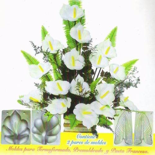 Moldes Para Flores Con Goma Eva - Frisadores - Termoformados ...