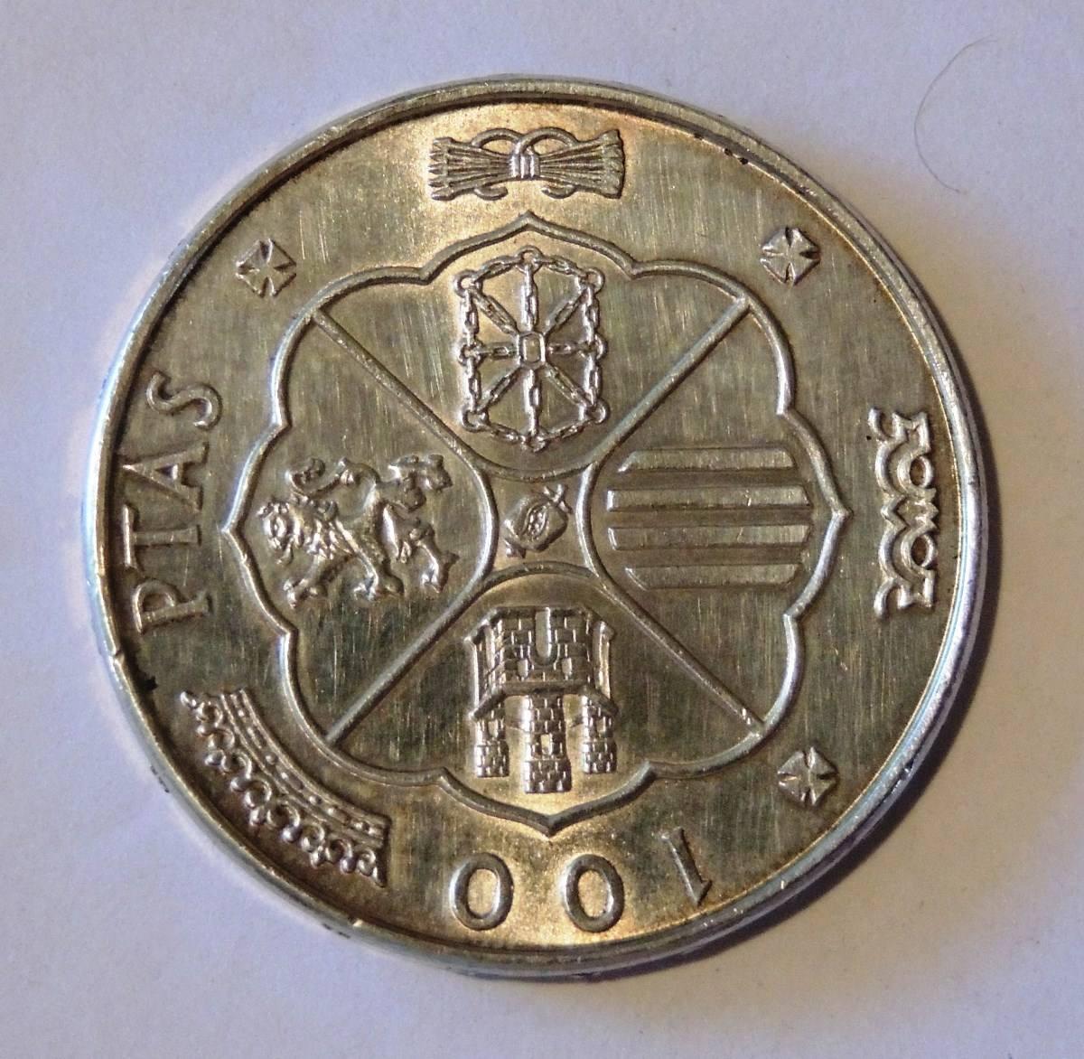 100 pesetas:
