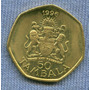 Malawi 50 Tambala 1996 * Escudo Y Presidente * Sin Circular