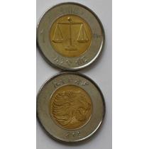 Etiopia Moneda Bimetalica 1 Birr Año 2012
