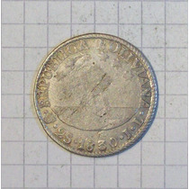 Bolivia 2 Soles Plata 1830 Muy Linda