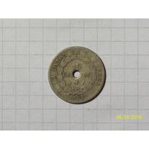 Bolivia 10 Centavos 1883 Linda Y Escasa