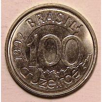 Moneda - 100 Cruzeiros - Brasil - Año 1992