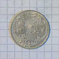 Brasil 2000 Reis Plata 1922 8 Grms