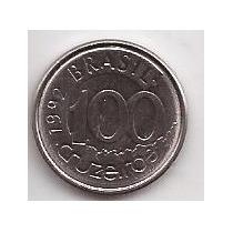 Brasil Moneda De 100 Cruzeiros Año 1992 !!