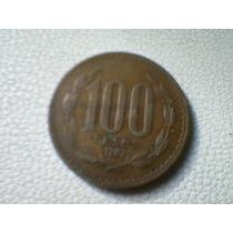Moneda 100 Pesos Chilenos 1987.