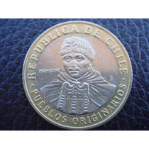 Chile - Moneda Bimetalica De 100 Pesos, Año 2009 - Impecable
