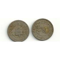 Moneda Colombia 2 Y 1/2 Centavos Año 1881 Buena