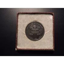 Colombia Medalla Plata Xv Aniv Banco Repub. Museo Del Oro