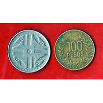 Colombia 100 Pesos 1995 Y 200 Pesos 2007 Quimbaya