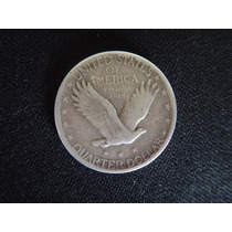Moneda Estados Unidos - 1/4 Dollar -standing Liberty Quarter