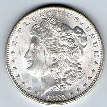 Barese2013 Moneda Ee.uu 1 Dollar Morgan 1885 O