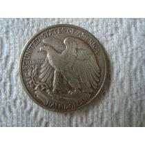 Medio Dolar De Plata 1941