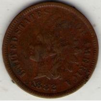 Estados Unidos Usa 1 Cent 1882 Mb