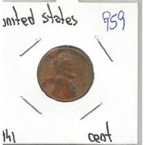 Estados Unidos Moneda De Un Centavo De 1941