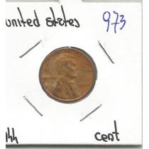 Estados Unidos Moneda De Un Centavo De 1944