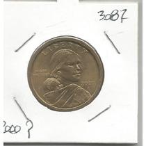 Estados Unidos Moneda Un Dolar 2000 P Sacagawea