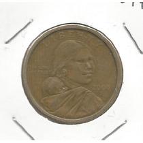 Estados Unidos Moneda Un Dolar 2000 D Sacagawea